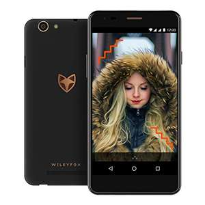 Wileyfox Spark X 5.5 Inch HD SIM-Free Smartphone with Android Nougat 7.0 (3000 mAh, 16 GB, 2 GB RAM, Dual SIM 4G) £59.47 Dispatched from and sold by Laptop Outlet UK - Amazon - Lightning deal