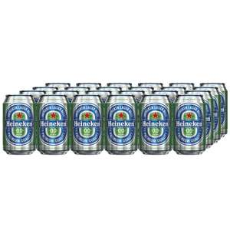 Heineken Alcohol-Free Beer 24 x 330 ml Cans £12.80  - Amazon - Prime exclusive