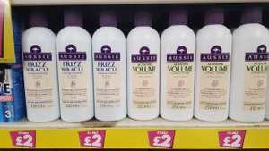Aussie Frizz Miracle / Volume Conditioner 250ml £2 @ Poundland