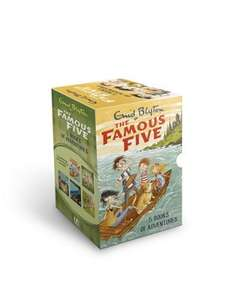 Famous Five 5 Book Collection (new covers) now £5 Delivered / C+C @ Tesco Direct