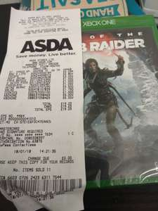 Rise of the tomb raider Xbox one. - £5 instore @ Hamilton Asda