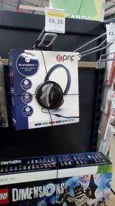 Prof playsonic 1 headset, ps4, Xbox, pc - £6.25 instore @ Tesco (Newport)