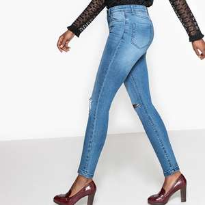 """Edit 26/1 - Extra 10% Off w/code - Distressed High Waist Skinny Jeans, Length 27"""" - Good for us Shorties! (was £35) Now £12.60 / Printed Pyjamas (was £17) Now £6.80 + Free C+C @ La Redoute"""