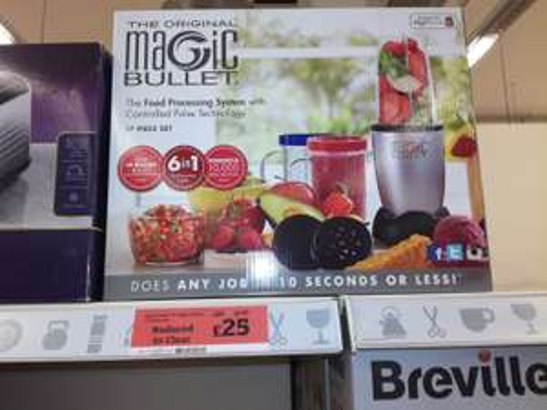 The Original Magic Bullet instore Sainsbury's £25