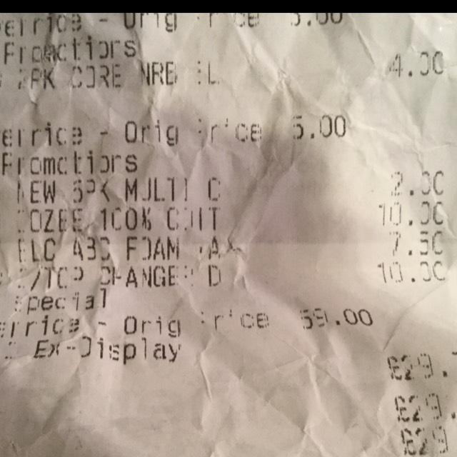 Mothercare Darlington Cot Top Changer £10 was £59 instore