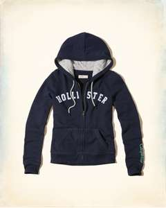 Hollister Logo Graphic Fleece Hood in £5.99 medium only / £10.99 delivered @ hollister