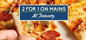 Food Offers at Prezzo - 2 for 1 on Main Meals / Kids Eat for £1 / 25% Student Discount and more
