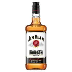 Jim Beam Kentucky Straight Bourbon Whiskey 1L  £16.00  Asda