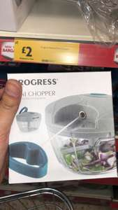 Progress Mini manual Chopper - £2 at Morrisons (instore Northampton)