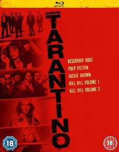 Quentin Tarantino Collection Blu-Ray Box Set £11.70 with code @ Zoom