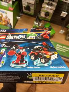 Lego dimensions team/fun packs for £3.75. Starter pack reduced to £20 @ tesco Extra - Purley