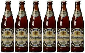 Weihenstephaner Hefeweissbier Beer, 12 x 500 ml (Amazon) £13.14 Prime / £17.89 Non Prime