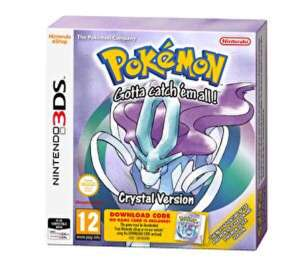 Pokemon Crystal 3ds £7.99 @ Very