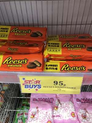 Reese's Rounds - 8 for the price of 6 - 95p Home Bargains
