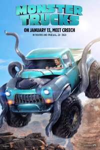 Monster Trucks - HD Movie - £3.49 or 350 points @ Rakuten