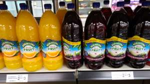 Robinsons Real Fruit Orange 2 Litres, and Robinsons Real Fruit​ Blackcurrant 2 Litres, currently on a 2 for £3!, at Farmfoods