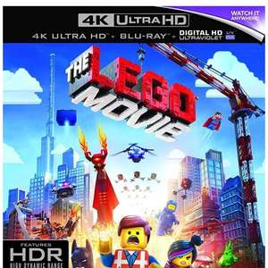 Lego movie UHD £6.95 Prime / £8.94 Non Prime Sold by Pro Line and Fulfilled by Amazon