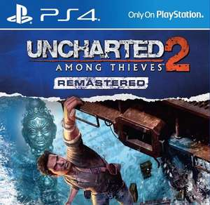 Uncharted 2 - remastered PS4 £5.85 - Shopto ebay