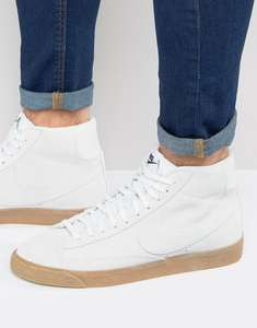 ASOS Nike Blazer Mid Trainers In White £37.50 from £75.00