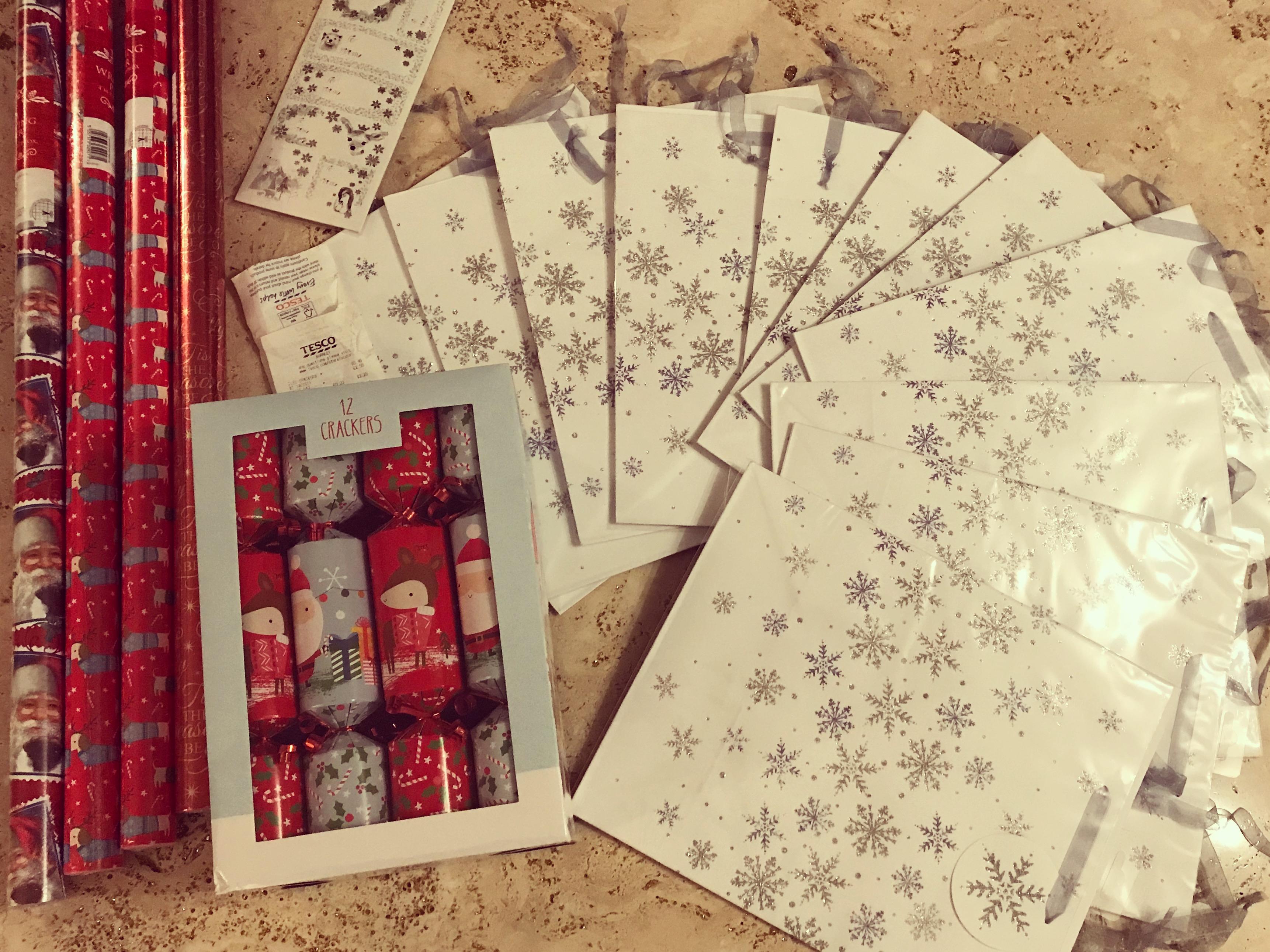 Medium Snowflake Gift Bags 15p @ Tesco