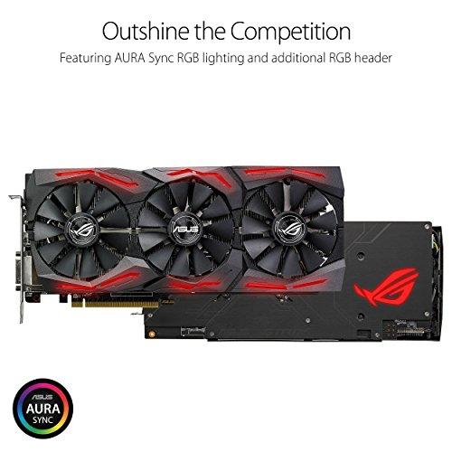 ASUS ROG-STRIX-RX580-O8G-GAMING Radeon RX 580 8GB @ EUR 363,40  (Amazon.es)