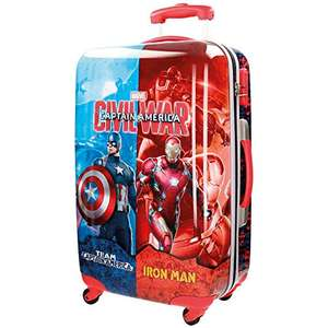 Marvel Suitcase Civil War - captain &iron man £38.66 @ Amazon