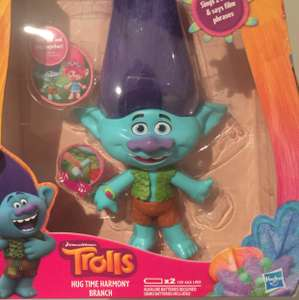 Trolls hug time singing branch reduced @ Asda (brombrough) £10.70