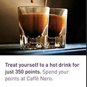Caffè Nero hot drink for 350 Nectar Points Back on!