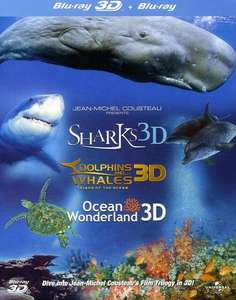 Jean-Michel Cousteau's Ocean Wonderland Etc Blu-Ray 3D + 2D Blu Ray Collection £5.29  (Prime) / £7.28 (non Prime) at Amazon
