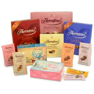 Thornton's Chocolate Bundle for £20 + £4 delivery