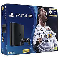 PlayStation 4 1TB Pro FIFA 18 Console £299.00 @ Tesco Direct