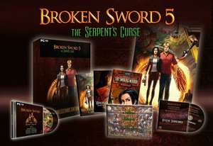 Broken Sword 5: The Serpent's Curse Collectors Edition (PC-Games) (this has b s 1-5 in the box) £14.99 -GAME