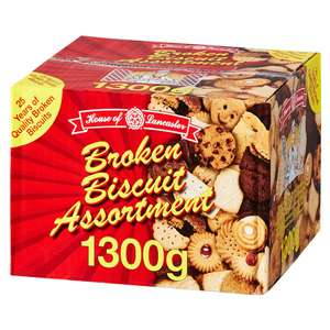 House of Lancaster 1300g Broken Biscuits £2.50 @ Iceland