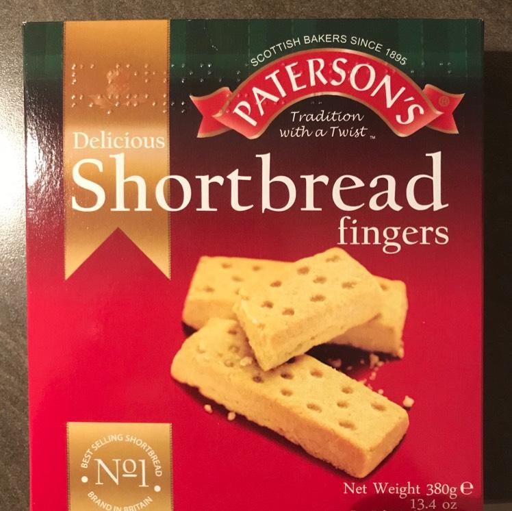 Paterson's Shortbread Fingers 380g 25p instore @ Tesco
