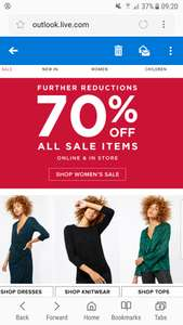 70% off all women's sale items Monsoon online & instore