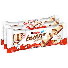 3X WHITE KINDER BUENO FOR £1 at Poundland