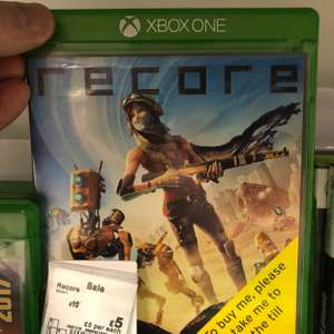 Recore for Xbox One just £5 instore in Asda Boston