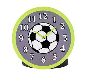 Football themed clock Was 9.99 now £2.99 @ Argos, free c+c