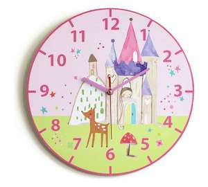 Fairies themed clock was 9.99 now £2.99 @ Argos,free c+c
