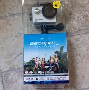 Kitvision Escape HD5 720p Action Camera £5 @ Wilko instore Armley Leeds branch