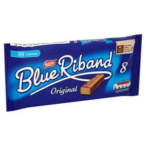 8 Blue Riband Bars 154.4g £1 @ Tesco were £1.69