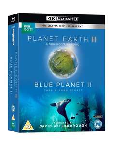 Planet Earth II/Blue Planet II Ultra HD 4k £46.79 DELIVERED at Zoom
