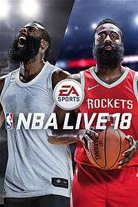 NBA Live 18 Free for Gold Members until 21st January