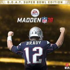 Madden NFL 18: G.O.A.T. Super Bowl Edition £19.99 @ PSN