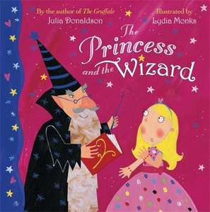 The Princess & The Wizard by Julia Donaldson only £2.09  (Prime) / £4.08 (non Prime) at Amazon