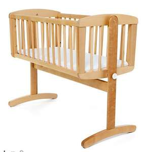 Mothercare Swinging Crib - Natural  back in stock! was £85 now £35
