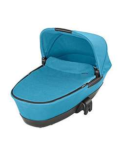 Maxi Cosi Foldable Carrycot - Mosaic Blue was £170 now £35 at Mothercare