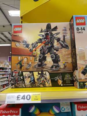 Lego Garma Mecha Man Rrp £59 now £40 instore at Tesco Ballymena