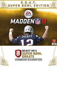 Madden N.F.L 18 G.O.A.T edition - Xbox store £19.80