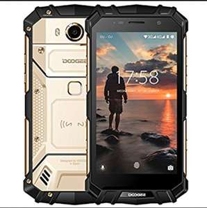 Doogee S60 gold rugged mobile phone Sold by DOOGEE DIRECT and Fulfilled by Amazon for £237.99